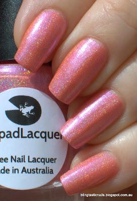 Lilypad Lacquer I'm Feeling Peachy