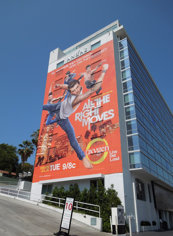 Giant All The Right Moves billboard