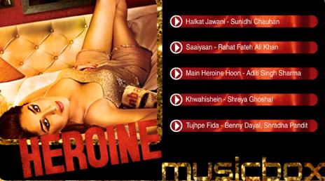 All Mp3 Song - Heroine Music Box