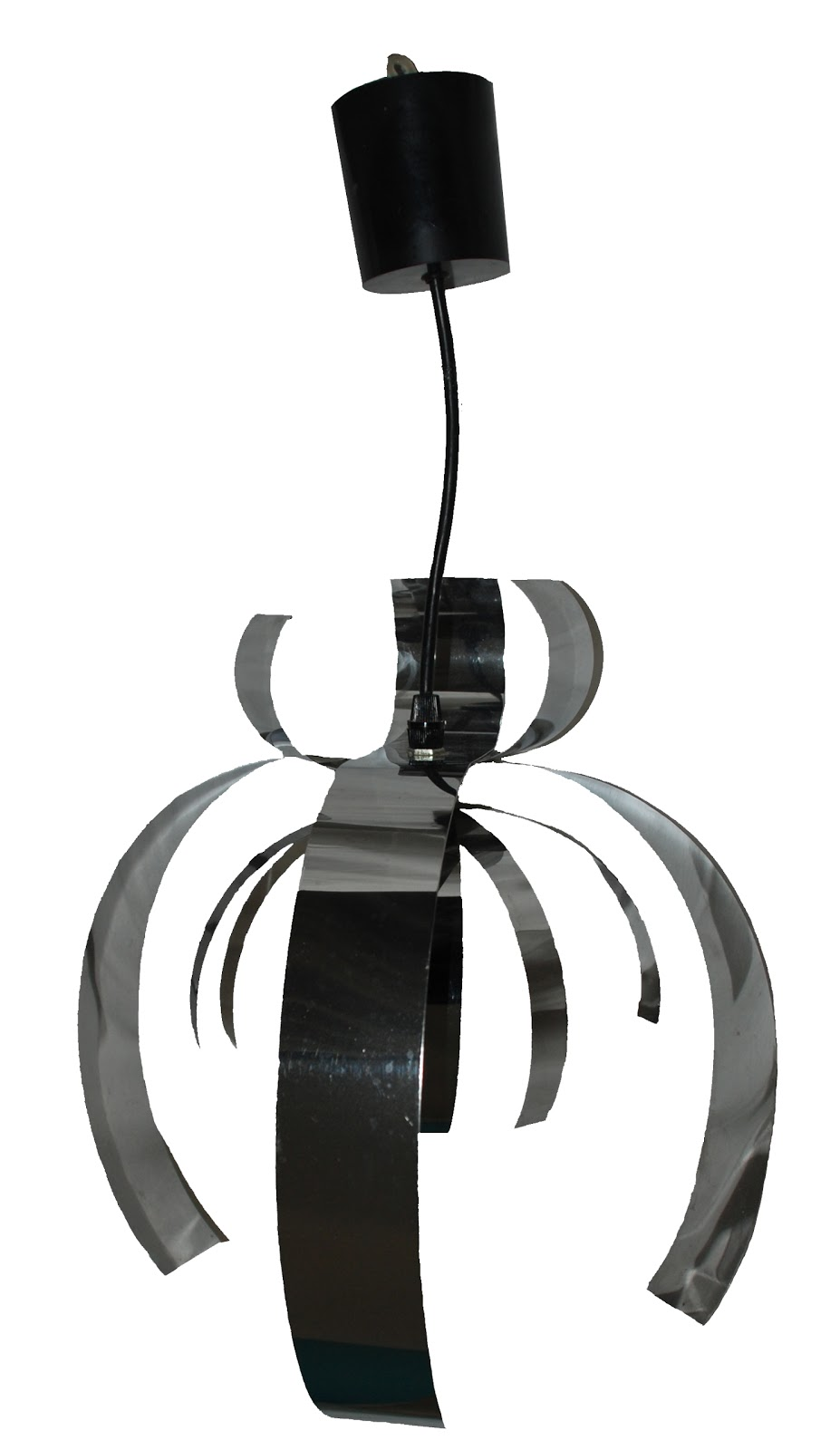 bo vintage suspension fleur araign e ann es 70. Black Bedroom Furniture Sets. Home Design Ideas