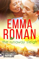The Runaway Sleigh, romance, cover image,