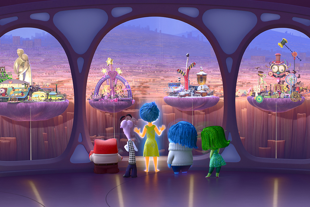Movie Inside Out 2015