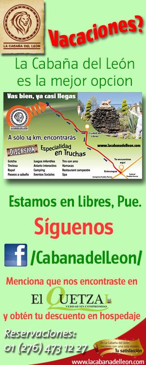 Visita la Cabaña del León