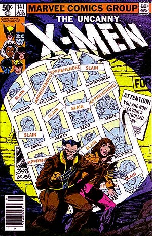 Portada Comic X-Men Días del Futuro Pasado