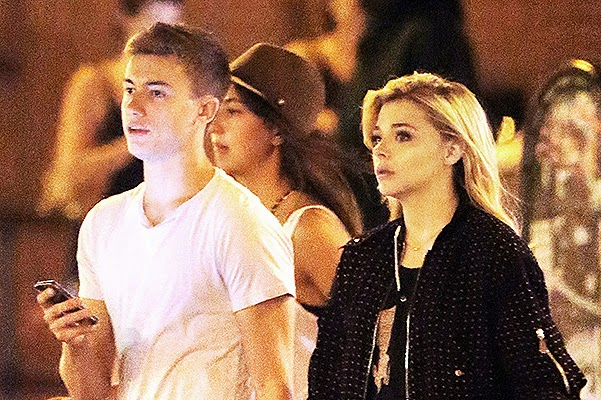 Chloe Moretz appeared in public with her boyfriend