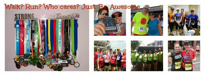 Walk? Run? Who cares? Just. Be. Awesome