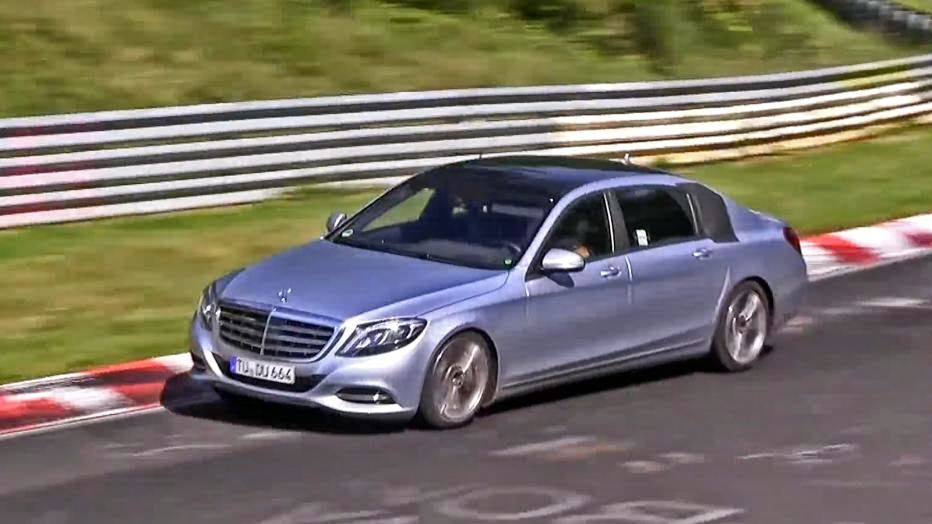 News - Watch the upcoming 2015 Mercedes-Benz Maybach take on the Nurburgring