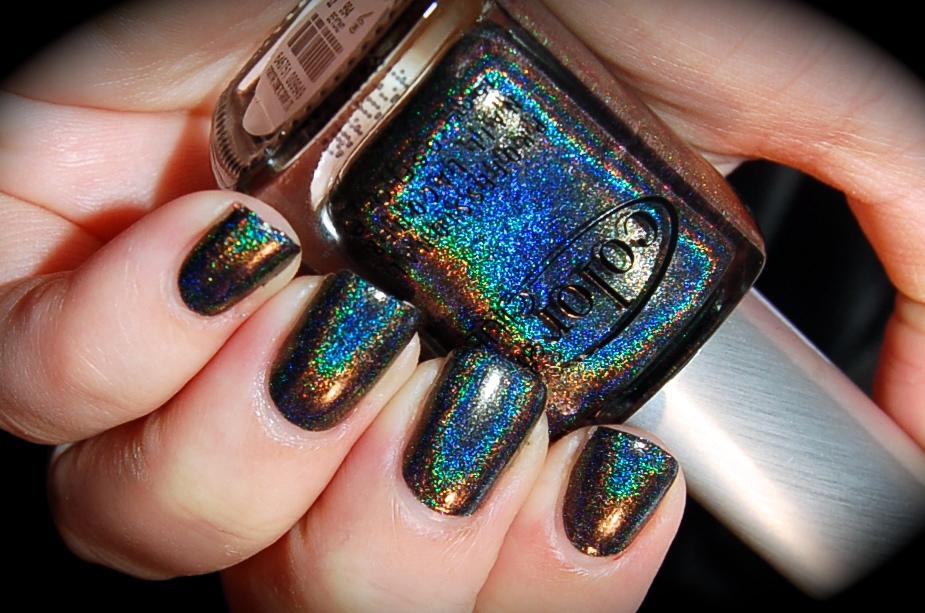 Swatch of Color Club Beyond, Color Club Halo Hues 2013,blog, nail polish, blogg nagellack