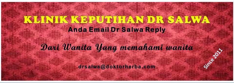 Klinik Keputihan Dr Salwa - Anda Email Dr Salwa Reply
