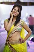Aswi Glamorous Photos in Half Saree-thumbnail-11