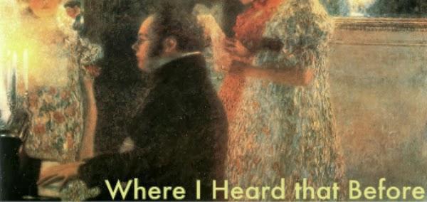 Where I Heard that Before