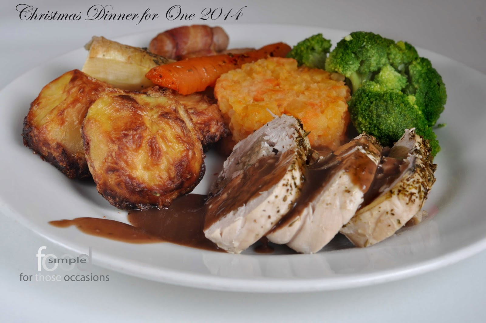 Christmas Dinner for One (2014) ~ Simple Food