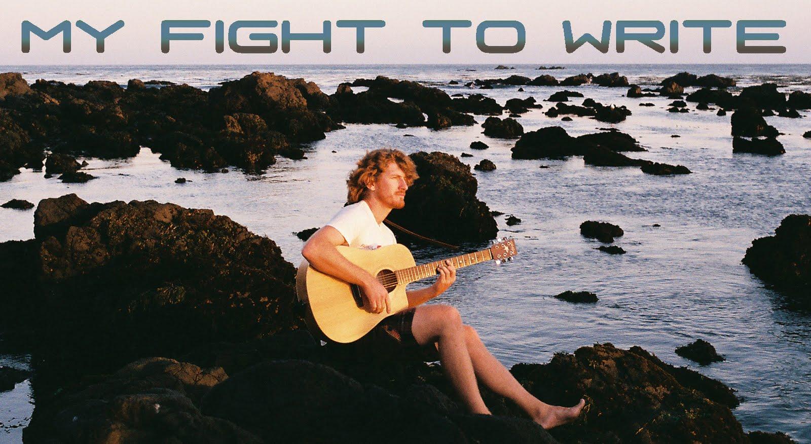 My Fight To Write