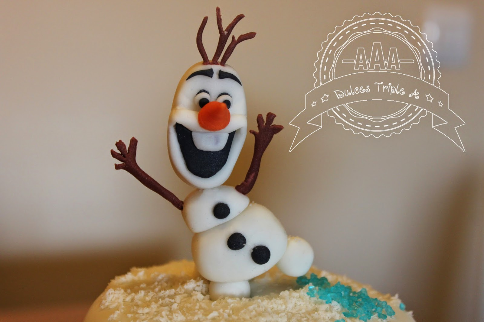 Tarta De Olaf (frozen)