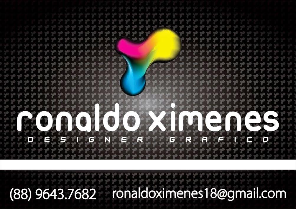 RONALDO XIMENES DESIGNER GRÁFICO