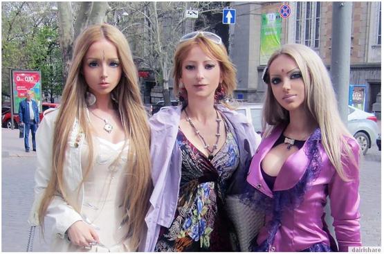 Gambar Gadis Barbie Dan Seluruh Keluarganya Gambar Mereka Pasti Mengejutkan anda