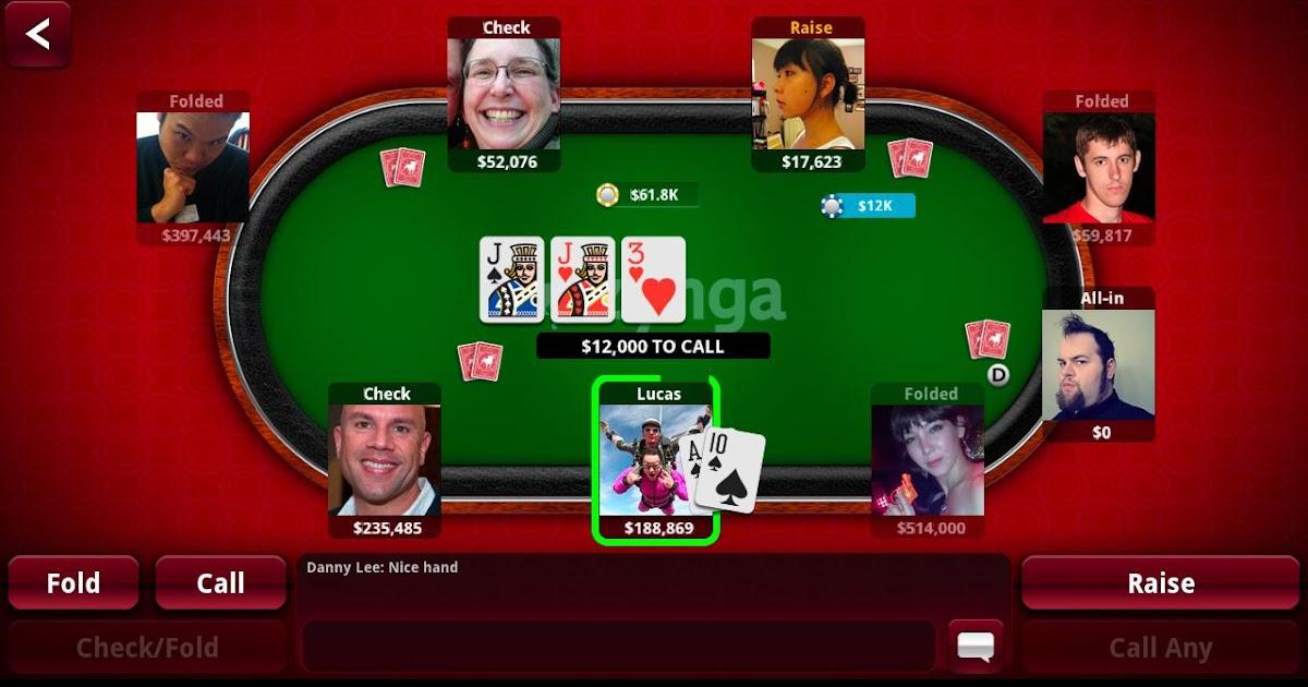 Hack zynga poker via android