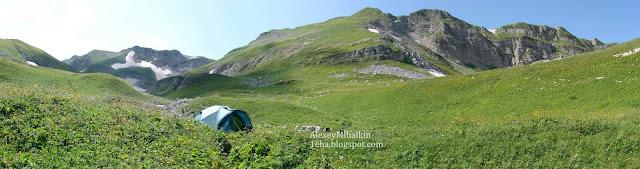 Панорама долина Ортобалаган
