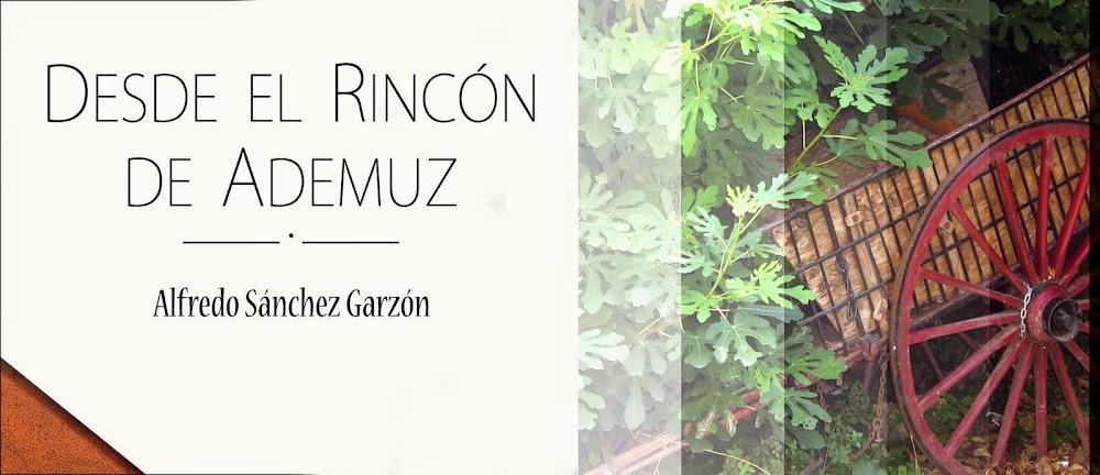 DESDE EL RINCÓN DE ADEMUZ