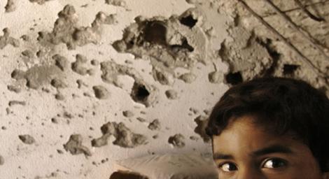O olhar do menino palestino