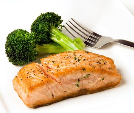 how to cook salmon with mirin