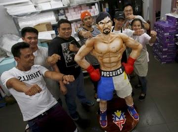 Kue Manny Pacquiao Dan Para Pembuatnya