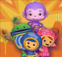 Team Umizoomi Purple Monkey Rescue