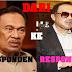 Riaksi Anwar Di Mahkamah Petang Tadi...