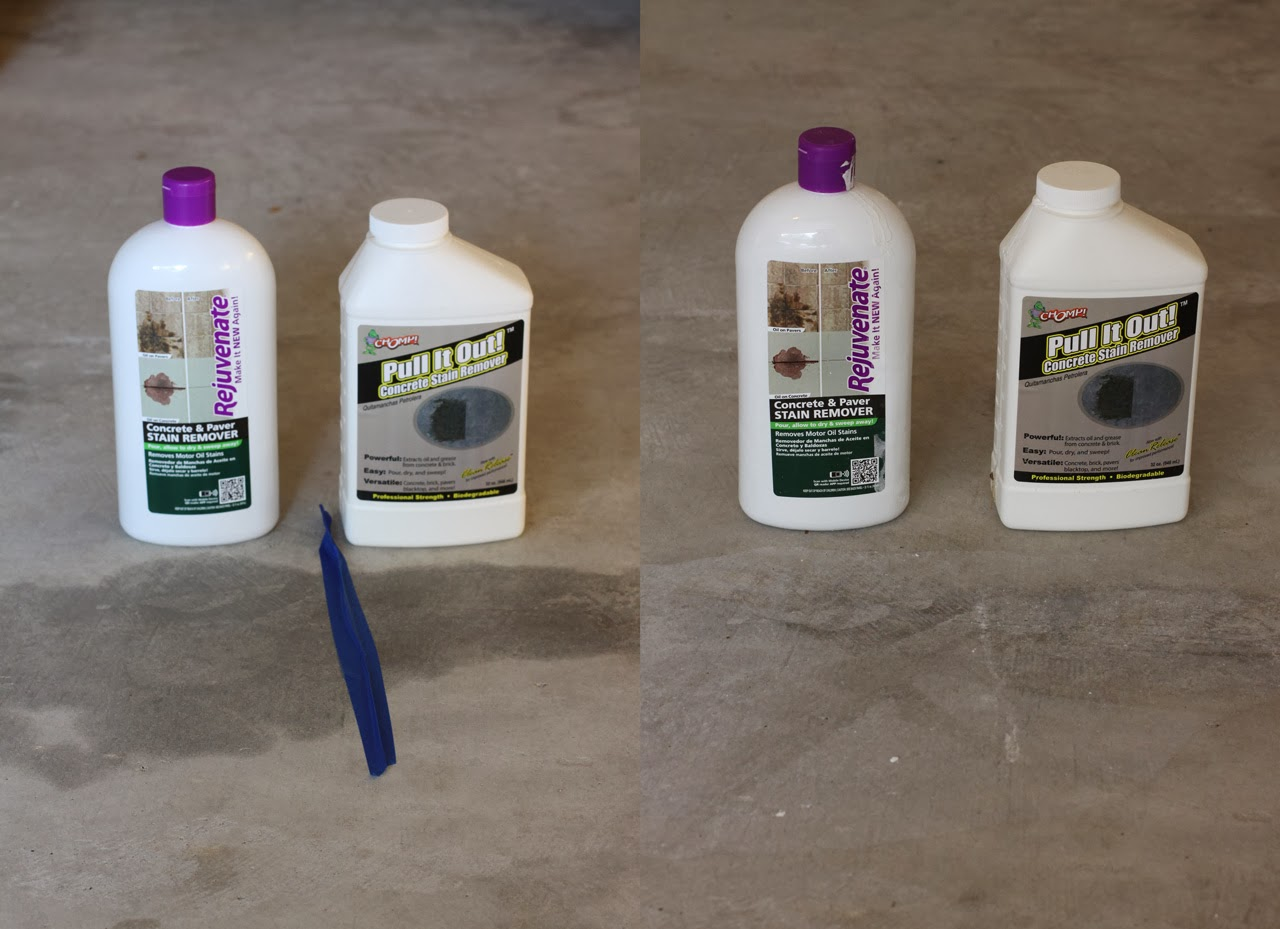 Two fourths full a porsche 993 blog review concrete oil for Concrete cleaner oil remover