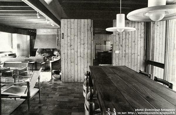 Mérignac - Maison-Atelier Lajus  Architecte: Pierre Lajus  Construction: 1973