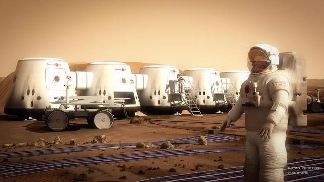 Mars One Astronaut