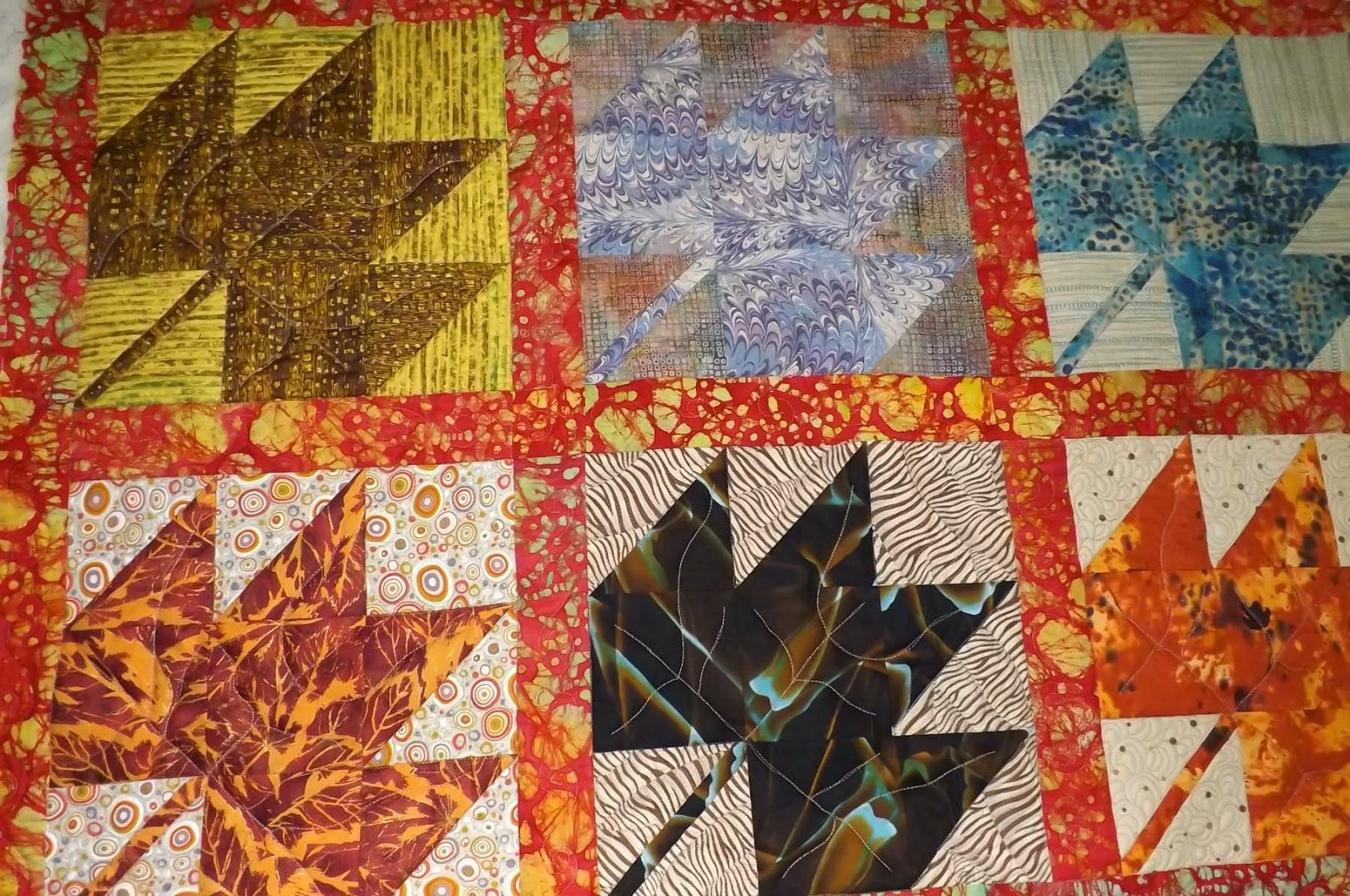Not Only Did The Quilting