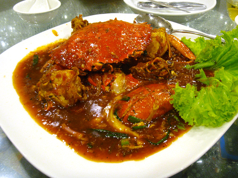 Chili Crab. Photo by Flickr user: yoodz