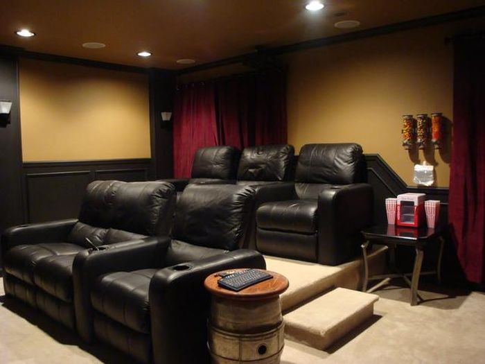 C mo crear tu propia sala de cine en casa un home theater incre ble en tu hogar rinc n abstracto - Diy home theater design idea ...