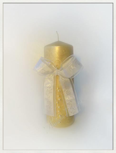Свадебные свечи.