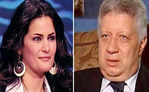 مرتضى منصور يطالب بتعويض 20 مليون جنيه من الراقصة سما المصرى لسبه وقذفه