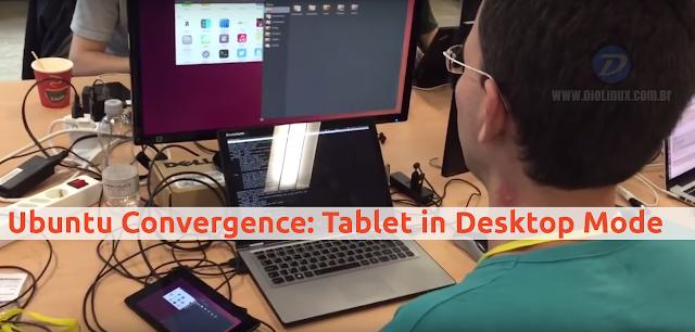 Ubuntu Convergence: Tablet in Desktop Mode
