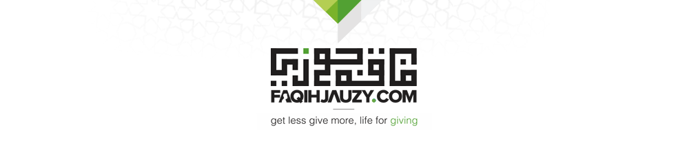 Faqih Jauzy | get less give more, life for giving.