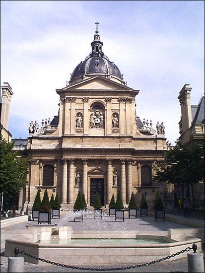Famous institutions sorbonne university for Sorbonne paris