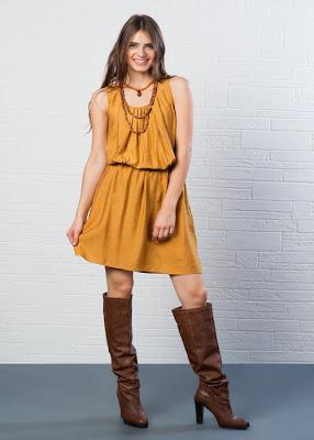 koton sonbahar elbise modelleri 2013-10