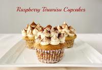 Raspberry Tiramisu Cupcakes