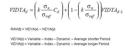 Forex variance formula