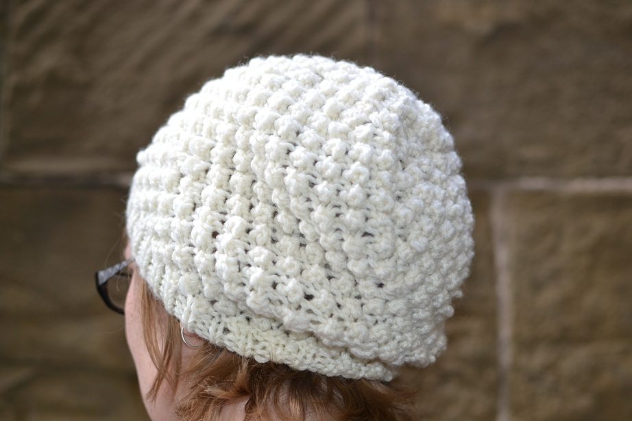 Knit Popcorn Stitch Hat Pattern : trinity stitch hat Tanya Today