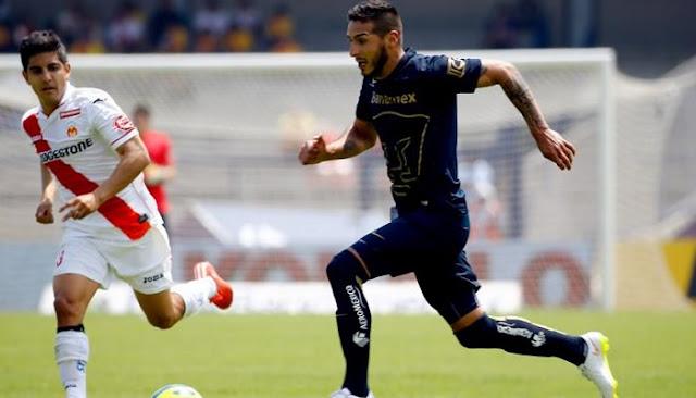 Ver el partido Morelia vs Pumas en vivo