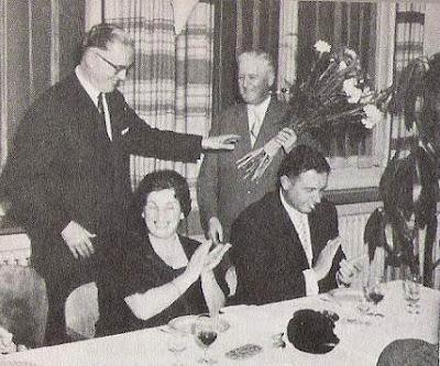 Alois Nagler, Hans Ott, Sra. Nagler y J. Bricola