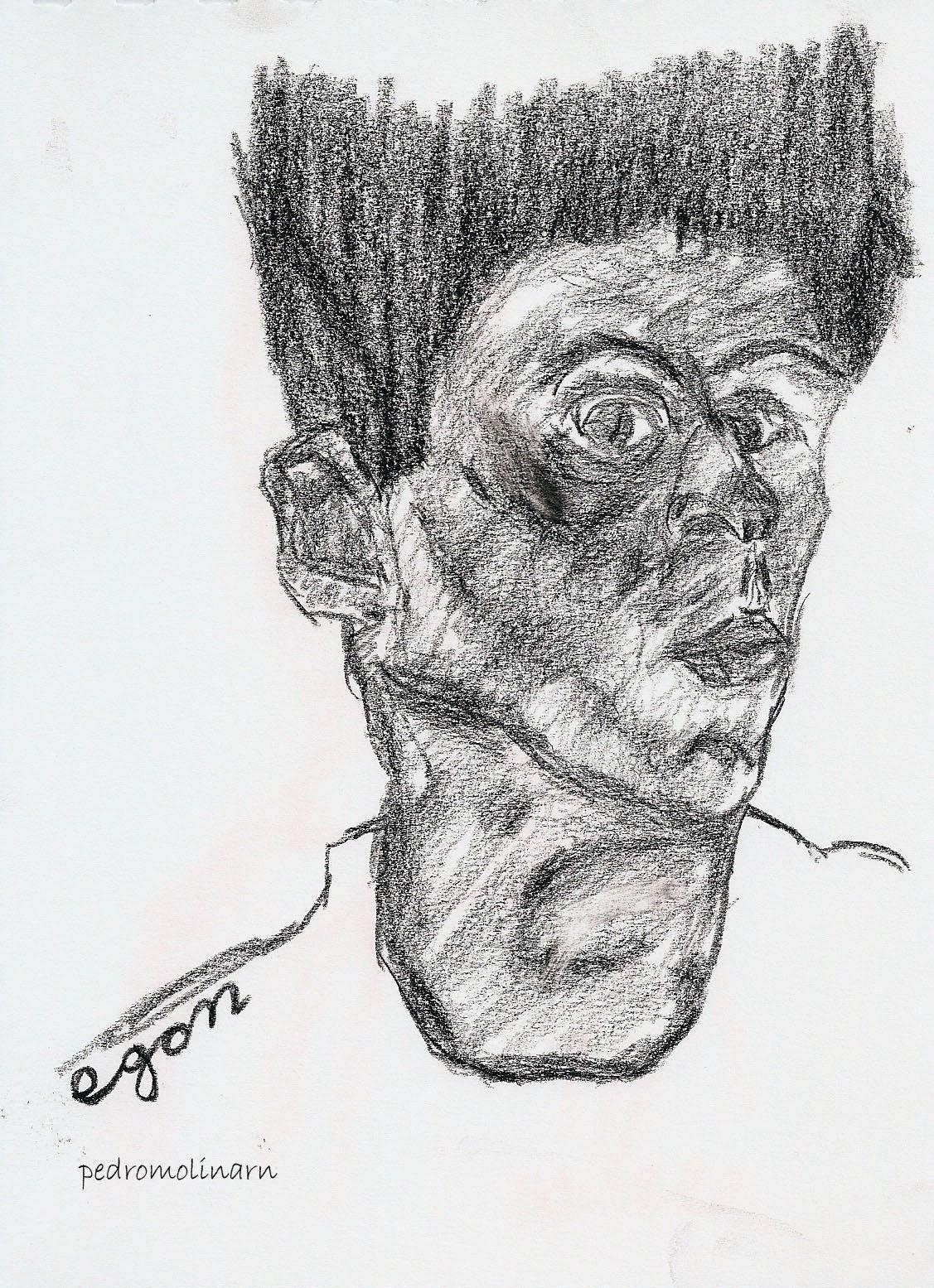 Egon Schiele, autorretrato