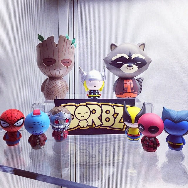 Toy Fair 2015 1st Look: Marvel Dorbz Vinyl Figures by Vinyl Sugar & Funko