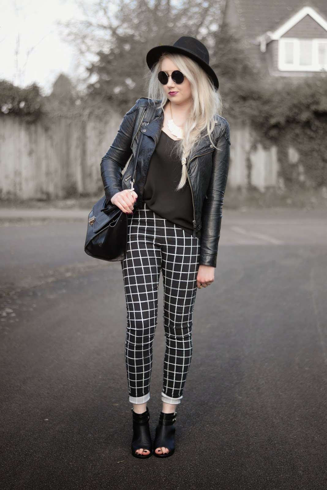 Sammi Jackson - Checked Trousers
