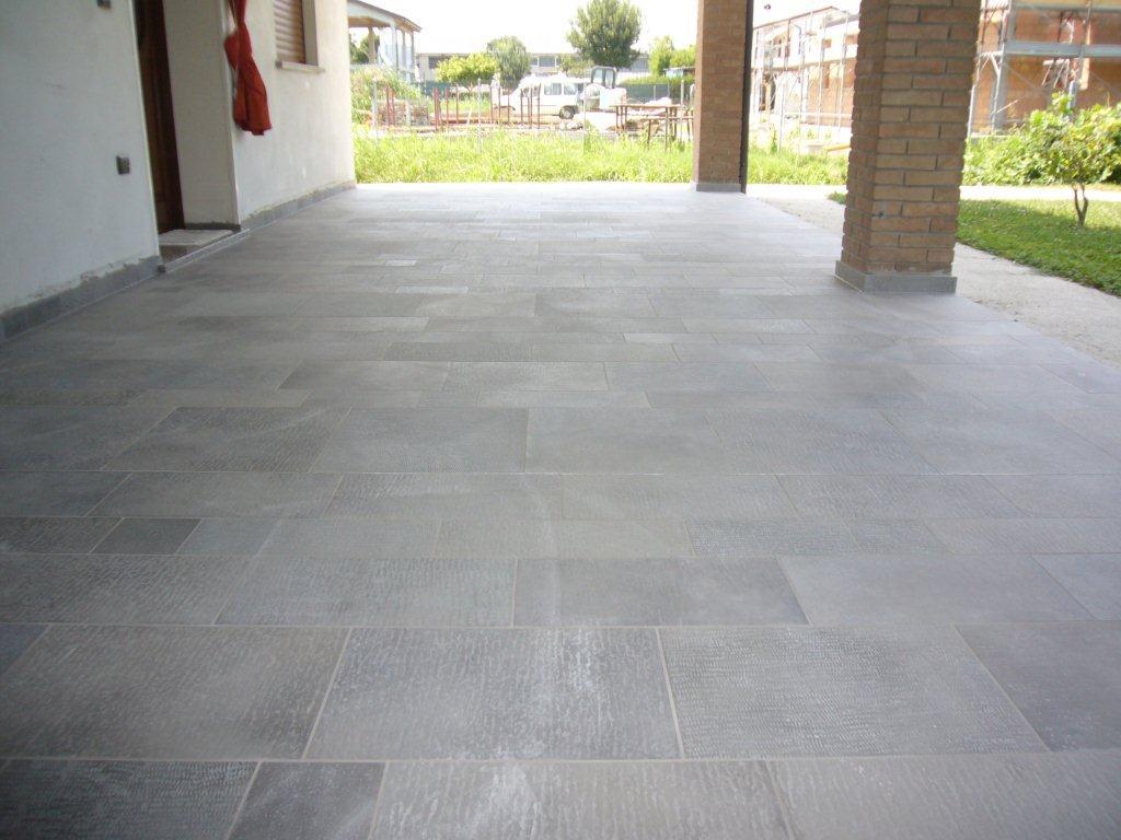 Pavimento esterno multiformato gabbatore mattia - Stuccare fughe pavimento esterno ...