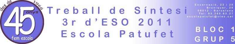 TS 3r d'ESO 1011 Bloc 1 - Grup 5